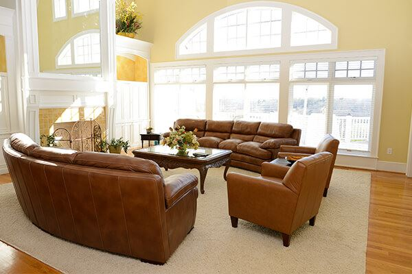 Living Room at Silver Ridge Recovery Center